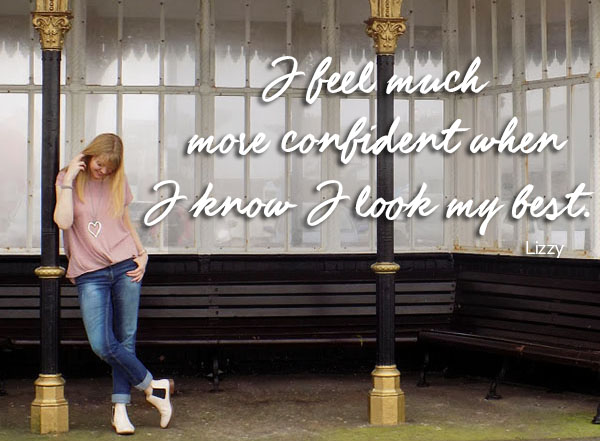 Lizzy style quote | 40plusstyle.com