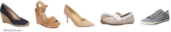 espadrille sandals loafer nude pumps Kate Middleton Duchess Cambridge | 40plusstyle.com