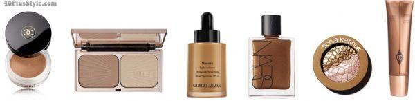 bronzer makeup skinnier slimmer | 40plusstyle.com