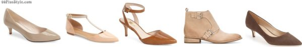 nude shoes skinnier slimmer | 40plusstyle.com