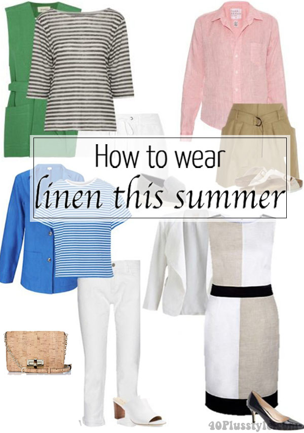How to wear linen this summer | 40plusstyle.com