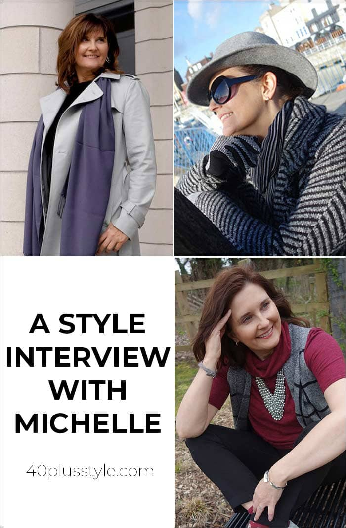 A style interview with Michelle | 40plusstyle.com