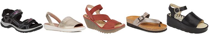 comfortable summer sandals | 40plusstyle.com