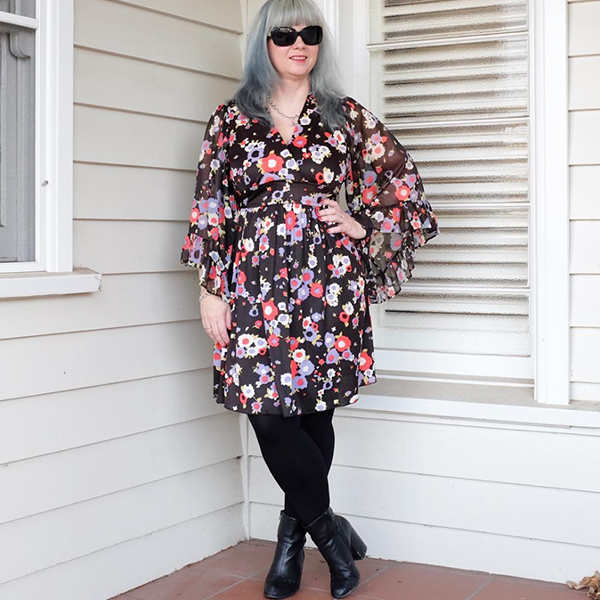 #40plusstyle inspiration: Floral tunic | 40plusstyle.com