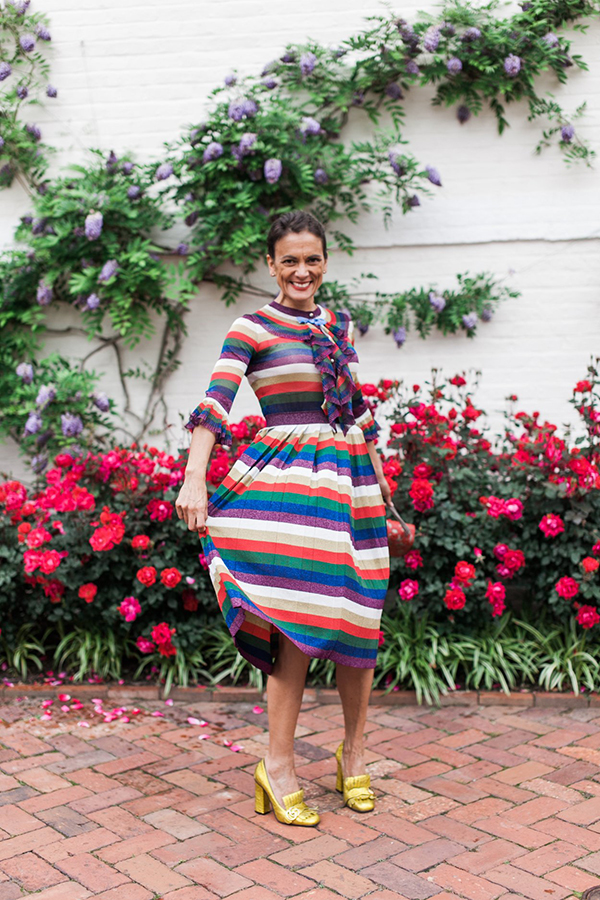Flair and confidence - A style interview with Sylvia | 40plusstyle.com