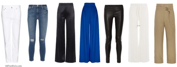 How to dress like Lauren Hutton ideas for pants: Silk wide leg pants and 70's inspired style | 40plusstyle.com