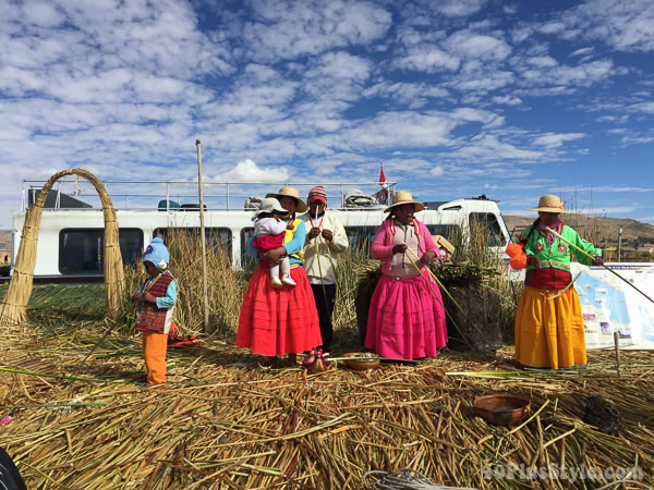 The colorful outfits of Puno | 40plusstyle.com