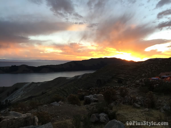 Travel diary: Bolivia sunset | 40plusstyle.com