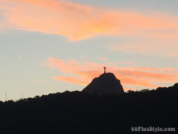 Rio de Janeiro sunset | 40plusstyle.com