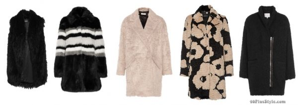 The best coats for fall: stylish fur coats for Fall 2016   40plusstyle.com