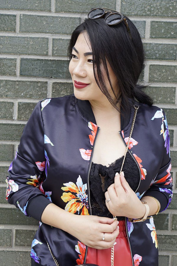 Outfit inspiration How to style bomber jackets | 40plusstyle.com