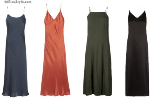 Slip Dress-Solid Color