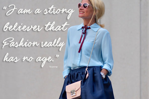 Style interview quote: Funky Forty   40plusstyle.com