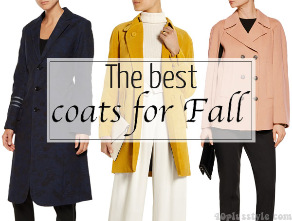 The best coats for fall | 40plusstyle.com