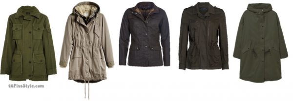 The best coats for fall: chic neutral and olive parkas   40plusstyle.com