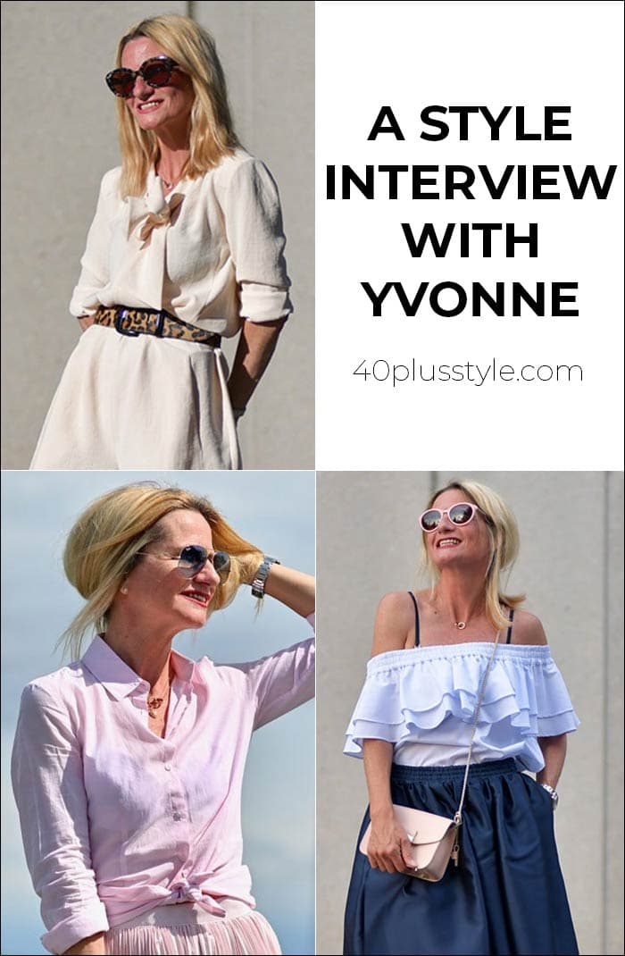 A style interview with Yvonne | 40plusstyle.com