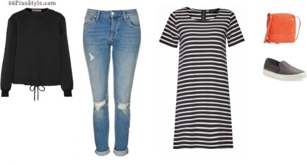 lifestyle capsule looks: chic casual looks | 40plusstyle.com