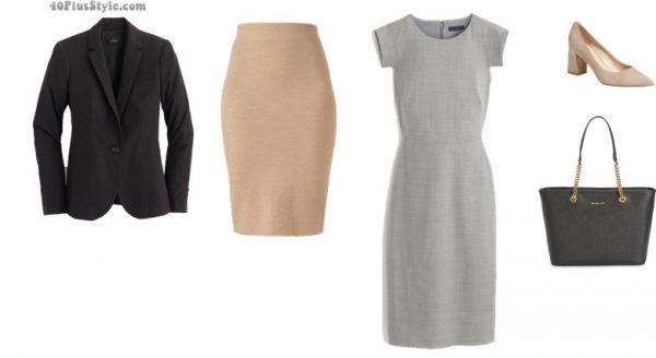 lifestyle professional office looks | 40plusstyle.com