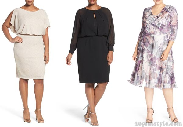 Dresses that hide your belly: outfit ideas for women over 40 | 40plusstyle.com