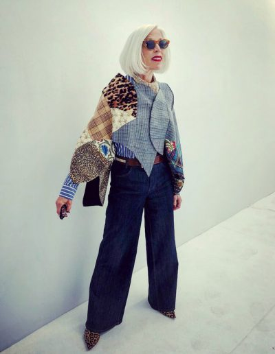 How to dress like Linda Fargo | 40plusstyle.com