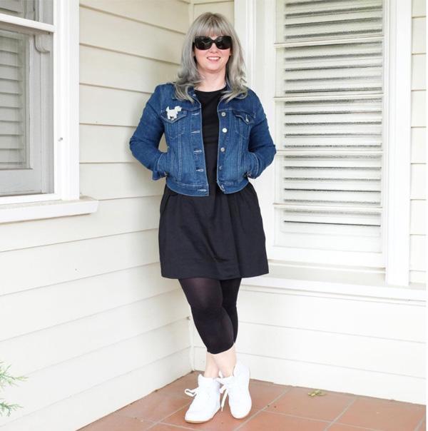 #40plusstyle inspiration: denim jacket | 40plusstyle.com