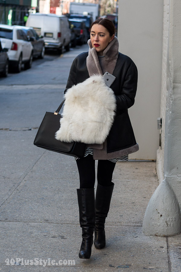 Winter outfits | 40plusstyle.com