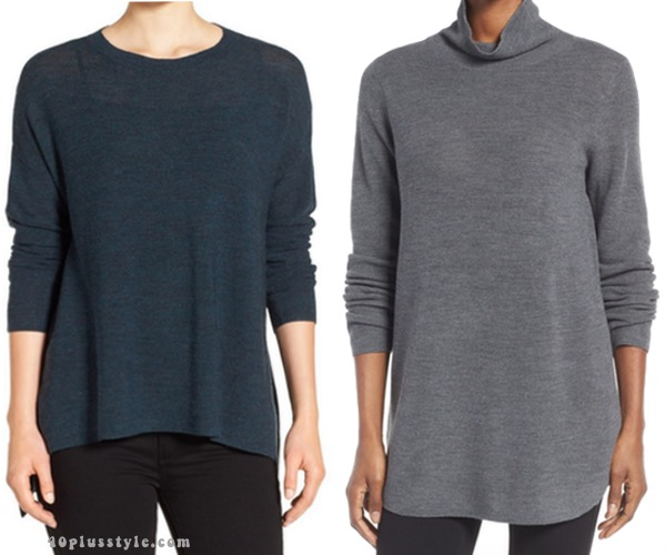 How to add Eileen Fisher sweaters to create your capsule wardrobe. 40plusstyle.com