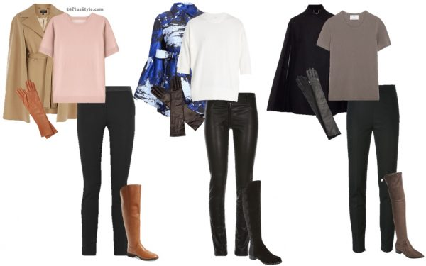 Cape outfit ideas for winter   40plusstyle.com