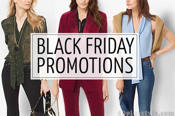 Black Friday promotions - A selection of favorite brands and full sales roundup! | 40plusstyle.com