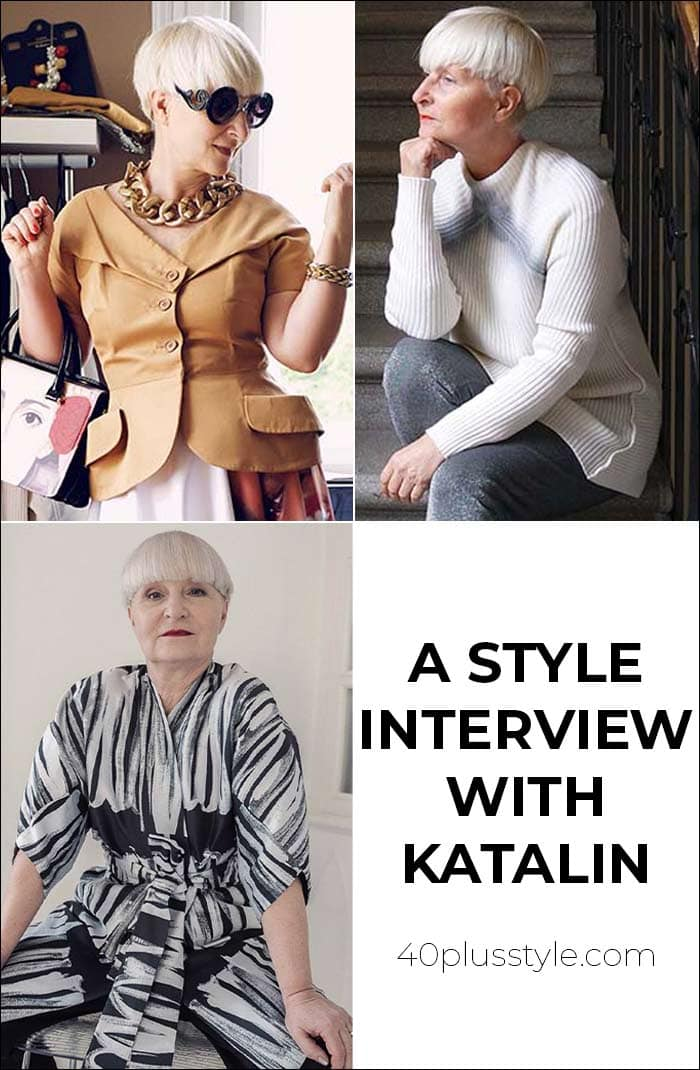 A style interview with Katalin | 40plusstyle.com