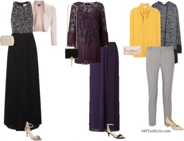 mother of the bride or groom outfit ideas | 40plusstyle.com