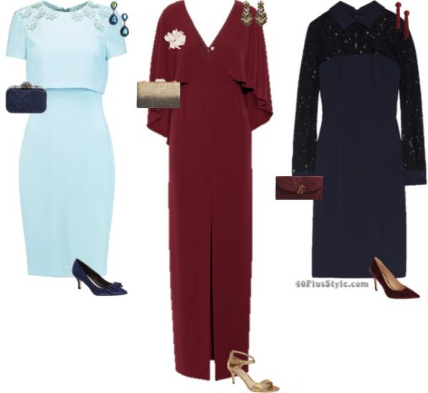 mother of the bride what to wear chic | 40plusstyle.com
