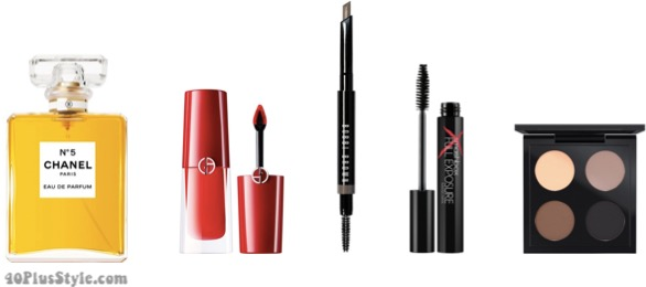 holiday party looks and makeup ideas| 40plusstyle.com