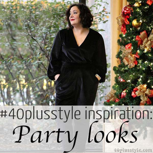 #40plusstyle inspiration: party looks | 40plusstyle.com