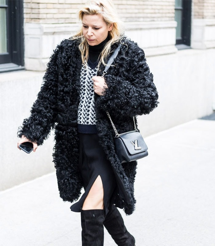 Streetstyle inspiration: Textured coats – Which of these 11 looks is your favorite?