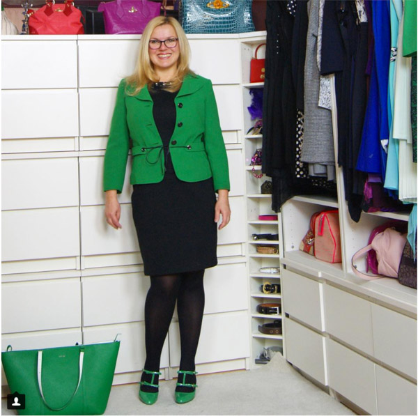 Green blazer   40plusstyle.com