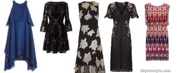 Boho dresses to create a bohemian capsule wardrobe | 40plusstyle.com