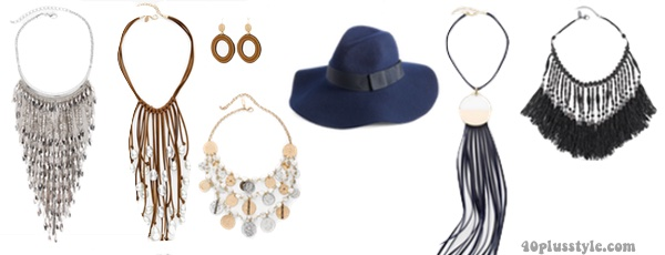 Accessories to create a capsule wardrobe | 40plusstyle.com