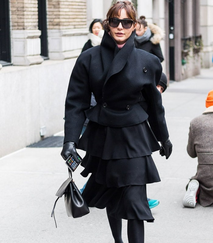 Streetstyle inspiration: black winter outfits – Which of these 4 outfits is your favorite?
