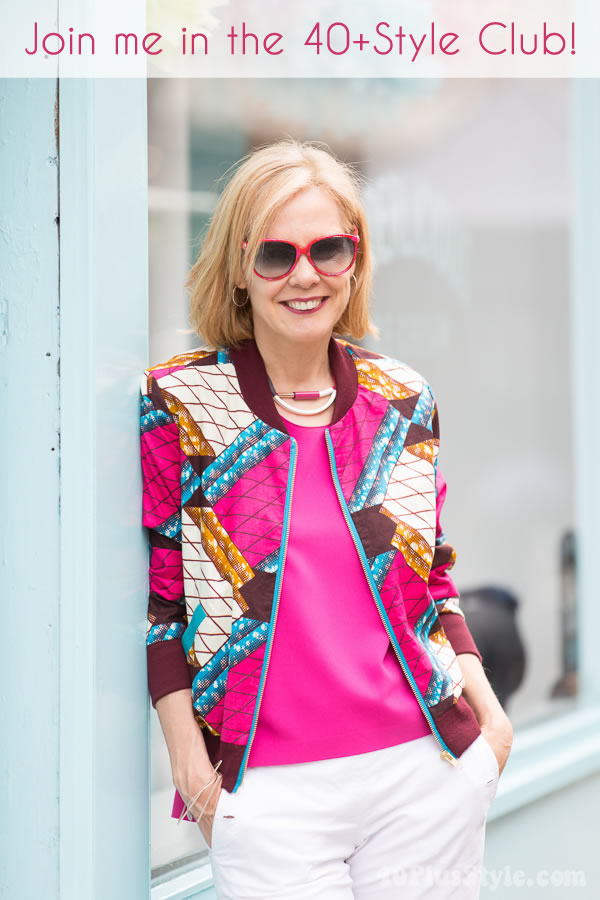 Join in the new 40+Style Club and ignite your style | 40plusstyleclub.com