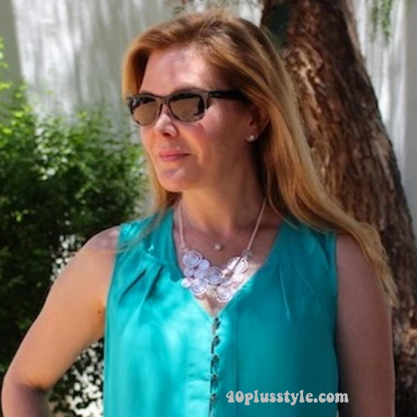 Tips for wearing long hair over 40, 40plustyle.com