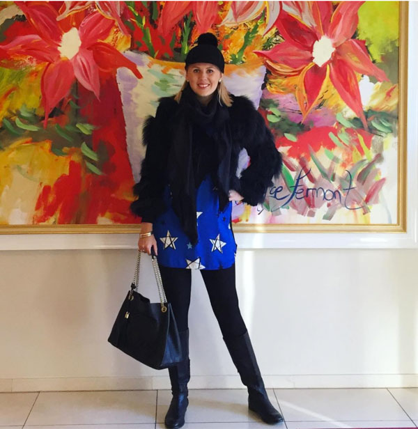 Layering with thermals and leggings | 40plusstyle.com