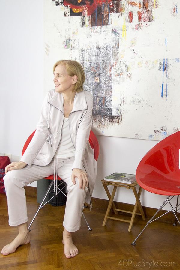 loungewear 'suit' | 40plusstyle.com