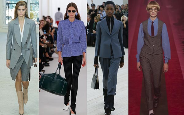 Spring 2017 trends for women over 40: Menswear for women | 40plusstyle.com