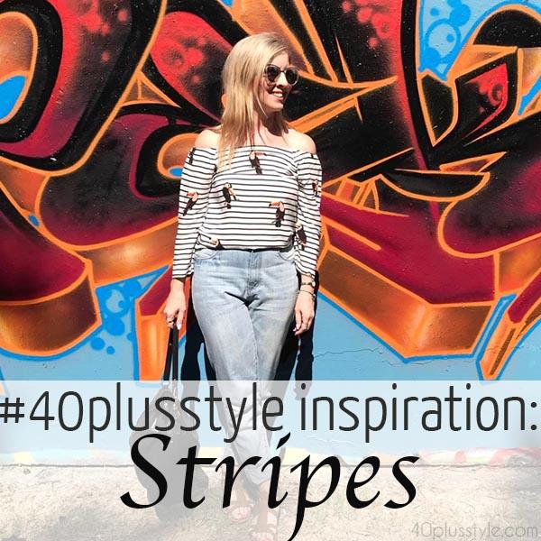 #40plusstyle inspiration: Stripes | 40plusstyle.com