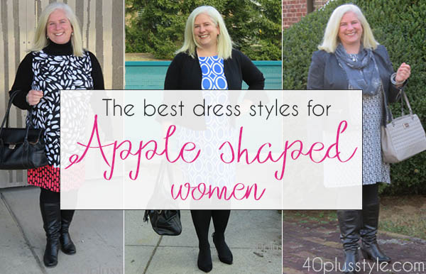 The best dress styles for apple-shaped women | 40plusstyle.com