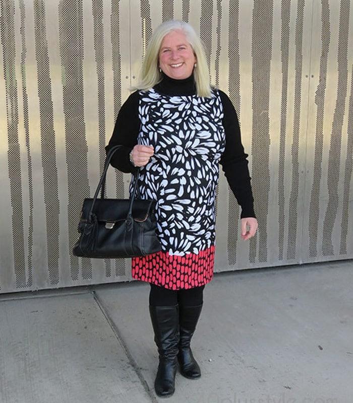 The best dress styles for apple-shaped women
