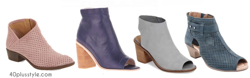 Our picks of the best new booties for spring and how to wear them | 40plusstyle.com