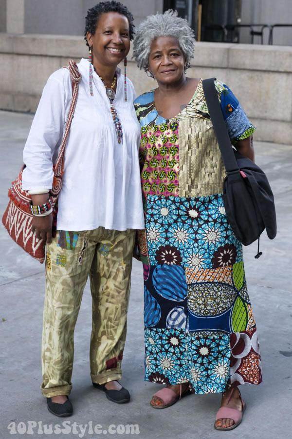 patchwork dress | 40plusstyle.com