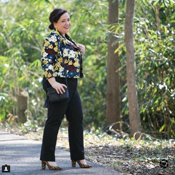 Floral jacket   40plusstyle.com